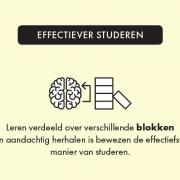 Effectiever studeren